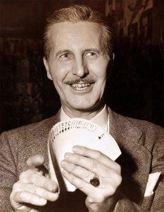 Card magician Dai Vernon