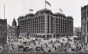 The original Palace Hotel in San Francisco